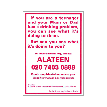 UK78 If you are a Teenager (A6 poster)*