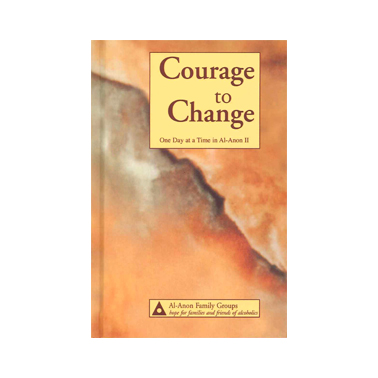 A16 Courage to Change: One Day at a Time in Al-Anon (Large print edition)
