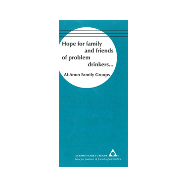UK3 Hope for Family and Friends of Problem Drinkers